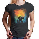 Escape Rapture - Retro and Pixel Video Game T-shirts - Mister Bubbles, Bioshock, Big Daddy, Little girl, Little Sister, Rapture City, Adam, Atlantic Ocean, Jack, Burial at Sea, Infinite, RPG, System Shock, 2K, Vita, Andrew Ryan, Daletheskater, Videogame, Games, Gamer, Best, Women, Men, T-Shirt, Tee, Slim Fit, Tank Top, Long Sleeve