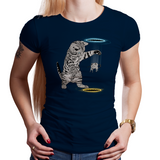 Mouse In Portal - Retro and Pixel Video Game T-shirts - Cat, Mouse, Cute, Adorable, Play, Trapped, Kitten, Kitty Cat, Rat, Men, Women, Kids