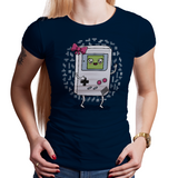 Gamer Girl - Video Game Pixel T-Shirts & Retro Gaming Tees! Nintendo, Game Boy, Female, Gamer, Nerd, Geek, Tetris, Blocks, Gaming, Video Games, Female Strong, Super Mario Land, Hand Held Gaming, 90s, Cute, Men, Women, Kids, Clothes, Tees