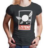 Listen! - Retro and Pixel Video Game T-shirts - Zelda, Fairy, Legend of Zelda, TLOZ, Ganon, Hyrule, Princess Zelda, A Link to the Past, Ocarina of Time, The Wind Waker, Twilight Princess, Skyward Sword, BOTW, Breath of the Wild, SNES, NES, Nintendo, Switch, N64, Nintendo 64, Epona, Kid Link, Adult Link, 1986, Nerd, Gamer, Geek, Men, Women, Kids