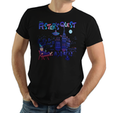 Festers Quest - Retro and Pixel Video Game T-shirts - NES, Nintendo, Nintendo Shirts, Pixel, 8-Bit, 80s, 1980s, 90s, 1990s, Movie, Creepy, Uncel Fester, Festers Quest, 1992, Thing, Wednesday, Gomez, Morticia, Grandmama, Pugsley, LikeLikes, Videogame, Games, Gamer, Best, Women, Men, T-Shirt, Tee, Slim Fit, Tank Top, Long Sleeve