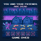 Friday the 13th - Video Game Pixel T-Shirts & Retro Gaming Tees! Gamer, Nes, Nintendo, 80s, Pixel, 8-Bit, Mashup, Friday The 13th, Jason Vorhees, 1989, Horror, Classic, Camp, Crystal Lake, Counselor, Killer, Maniac, Movie, Film, Slasher, Kari LikeLikes, Cult Horror, Game Horror, Blood, Killing, Freddy, Nightmare on Elm Street, Women, Men, Kids, Cotton, Tank, Long Sleeved, Shirt