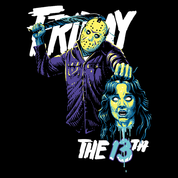 Friday the 13th Blue Version