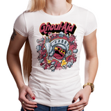 Ghoul Aid N Ghosts - Retro and Pixel Video Game T-shirts - Nintendo, NES, Kool Aid, Drink, Ghouls N Ghosts, Goblins, Knight Arthur, Parody, Wall, Ghosts, Halloween, Demons, Zombie, Money Bag, Horror, 80s, 1990s, 80s, Gamer, Mash Up, 90s, Arcade, Videogame, Games, Gamer, Best, Women, Men, T-Shirt, Tee, Slim Fit, Tank Top, Long Sleeve