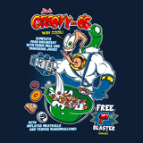 Groovy O's - Video Game Pixel T-Shirts & Retro Gaming Tees! Earthworm Jim, Platformer, Shiny Entertainment, Groovy, Run and Gun, Breakfast, 1994, 90s, Cereal, Peter Puppy, Psy-Crow, Major Mucus, Genesis, Mashup, Retro Gamer, Cereal, 16-Bit, Olipop, Women, Men, Kids, Cotton, Tank, Long Sleeved, Shirt