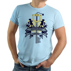 Keyblade - Retro and Pixel Video Game T-shirts - Kingdom Hearts, Sora, Keyblade, Heartless, RPG, Action RPG, Frozen, Pirates, PS4, Playstation, Kingdom Hearts 3, Toy Story, Nerd, Geek, Cool, Level Up, Japan, Japanese, Fantasy, Alundrart, Videogame, Games, Gamer, Best, Women, Men, T-Shirt, Tee, Slim Fit, Tank Top, Long Sleeve