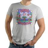 Kirby's Adventure - Video Game Pixel T-Shirts & Retro Gaming Tees! Gamer, Nes, Nintendo, 80s, Pixel, 8-Bit, 1980s, Nerd, Geek, Kirby, Kirby's Adventure, Fountain of Dreams, King Dedede, Kirby's Adventure, Dream Land, 64, The Amazing Mirror, Smash Bros, Kari LikeLikes, Men, Women, Tank, Long Sleeved