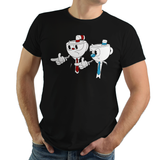 Pulp Fiction - Video Game Pixel T-Shirts & Retro Gaming Tees! Video Game Pixel T-Shirts & Retro Gaming Tees! Shop Our Large Collection!  Types: Men's T-Shirts, Women's Tees, Kid's Tees, Hoodies, Pulp Fiction, Movie, 90s, Jules, Vincent Vega, Movie, Film, Mashup Cuphead, Xbox, Mugman, Shooter, Xbox, The Devil, Gamer, Cartoon, 1930s, Say What Again, Indie, Classic, Gamer, Run and Gun, Women, Men, Kids