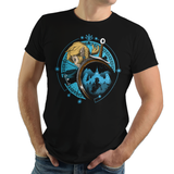 Stay Wild - Retro and Pixel Video Game T-shirts - Zelda, Shrine, Castle, Legend of Zelda, TLOZ, Ganon, Hyrule, Princess Zelda, A Link to the Past, Ocarina of Time, The Wind Waker, Twilight Princess, Skyward Sword, BOTW, Breath of the Wild, SNES, NES, Nintendo, Switch, N64, Nintendo 64, Wild, Triforce, Retro Wave, Nerd, Gamer, Geek,