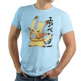 Bendermon - Retro and Pixel Video Game T-shirts - Pokemon, Pikachu, Cute, Adorable, Blue, 1996, 2004  PokeBall, Nintendo, Blue, Red, T-Shirts, Game Boy, Switch, Geek, Nerd, Pokeball, Water, Earth, Fire, Aang, Avatar The Last AirBender
