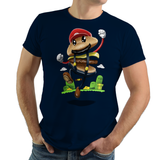 Super Burger - Retro and Pixel Video Game T-shirts - Super Mario, Mario, SMB, Super Mario 2, Super Mario 3, Burger, Hamburger, Warp, Mushroom Kingdom, Super Mario 64, Cheese, Food, Hungry, Mario Bros, Odyssey, T-Shirt, Mens, Womens, Tee, Cute, Adorable