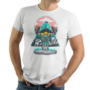 Wild On - Retro and Pixel Video Game T-shirts - Zelda, Shrine, Castle, Legend of Zelda, TLOZ, Ganon, Hyrule, Princess Zelda, A Link to the Past, Ocarina of Time, The Wind Waker, Twilight Princess, Skyward Sword, BOTW, Breath of the Wild, SNES, NES, Nintendo, Switch, N64, Nintendo 64, Wild, Triforce, Retro Wave, Nerd, Gamer, Geek,