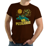 Pizzalands - Video Game Pixel T-Shirts & Retro Gaming Tees! Borderlands, Mashup, Claptrap, Box Art, FPS, Shooter, Bandits, Psycho, Badass, TMNT, Ninja Turtles, Michelangelo, Mikey, Pizza, Leonardo, Donatello, Raphael, Cowabunga, Splinter, Shredder, Green, Men, Women, Kids, Clothes, Tees