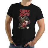 Dwarf Warrior - Retro and Pixel Video Game T-shirts - Nintendo, NES, Super Mario, Mario 3, Box Art, SMW, Super Mario World, Bowser, Gamer, Mario Bros, Mash Up, Dwarf, Warrior, Beard, Fantasy, Movie, Film, Ring, Battle, War, Fight, Men, Women, Kids, Tees, Clothes