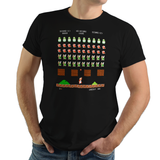 Super Mario Invaders - Video Game Pixel T-Shirts & Retro Gaming Tees! Video Game Pixel T-Shirts & Retro Gaming Tees! Shop Our Large Collection!  Types: Men's T-Shirts, Women's Tees, Kid's Tees, Hoodies, Space Invaders, 1978, 70s, 1970s, Pixel, Alien, Laser Canon, Arcade, Atari, Shooter, Japan, Japanese, UFO, Space, Sci-Fi, Science Fiction, SMB, Super Mario, Mario Bros, Pixel, NES, Turtle, Blooper, Koopa Troopa, Nintendo Men, Women, Kids, Clothes, Tees