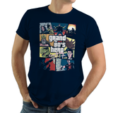 80s Hero - Retro and Pixel Video Game T-shirts - Retro, Sci-Fi,Science Fiction, 80s, 1980s, Retro Wave, Kung Fury, Dinosaur, Robot, Arcade, Game, Triceracop, Thor, Norse, Power Glove, Pixel, Hackerman, GTA, Grand Theft Auto, Mashup, Men, Women, Kids