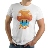 Mushroom World Adventure - Retro and Pixel Video Game T-shirts - Super Mario, Mario, SMB, Super Mario 2, Super Mario 3, 1UP, Mushroom Kingdom, Super Mario 64, Extra Life, Bullet Bill, Mario Bros, Odyssey, T-Shirt, Mens, Womens, Tee, Mario Cloud, Cute, Adorable