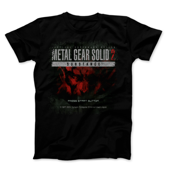 Metal Gear Solid 2 Press Start