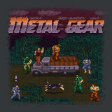 Metal Gear - Video Game Pixel T-Shirts & Retro Gaming Tees! NES, Nintendo, Nintendo Shirts, Pixel, 8-Bit, 80s, 1980s, 1990s, 90s, Retro, Gamer, Metal Gear, Metal Gear Solid, Solid Snake, 1987, 1980s, Action Adventure, Hideo Kojima, Fox Hound, Big Boss, Outer Heaven, Grey Fox, Konami, Phantom Pain, Twin Snakes, Kari LikeLikes, Men, Women, Tank, Long Sleeved