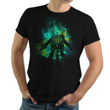 My Protector - Retro and Pixel Video Game T-shirts - Mister Bubbles, Bioshock, Big Daddy, Little girl, Little Sister, Rapture City, Adam, Atlantic Ocean, Jack, Burial at Sea, Infinite, RPG, System Shock, 2K, Vita, Andrew Ryan, Donnie, Videogame, Games, Gamer, Best, Women, Men, T-Shirt, Tee, Slim Fit, Tank Top, Long Sleeve