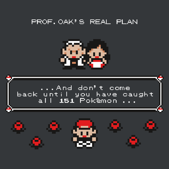 Prof.Oak's Real Plan