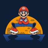 Plumber Split - Video Game Pixel T-Shirts & Retro Gaming Tees! Gamer, Nes, Nintendo, 80s, Pixel, 8-Bit, 1980s, Nerd, Geek, Super Mario, Plumber, Split, Luigi, Bowser, Princess Peach, Toad, Mario1, 1UP, Koopa Troopa, 1985, King Koopa, Japanese, Olipop, Women, Men, Kids, Cotton, Tank, Long Sleeved, Shirt