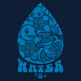 PixelRetro is your best destination for Video Game T-Shirts for Men and Women. Unisex Tee with a great fit. Squirtle, Wartortle, Blastoise from Pokemon on a Black or Navy Blue T-Shirt. Water Type from Nintendo for Game Boy with a unique look. Gotta Catch Them All. Online shop only. Soft, durable and high quality cotton. Art By Nemons.