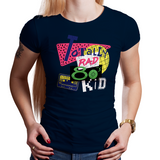 Rad Eighties Kid - Retro and Pixel Video Game T-shirts - 1980s, Retro Wave, Made in the 80s, Vintage, Classic, Black, Navy, Grey, Geek, Nerd, Birthday Gift, Christmas Gift, Rad, Eighties, Totally Rad, NES, Nintendo, Tape, Cassette, Stationjack, Shirt, Tee, Men, Women, Kids, Tank Top, Long Sleeved, High Quality, Shirt, Clothes