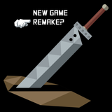 Remake - Video Game Pixel T-Shirts & Retro Gaming Tees! Cloud, JRPG, RPG, Japan, Japanese, FF7, FF VIII, PS1, Sword, 90s, 1990s, Nerd, Geek, Remake, Final Fantasy 7, 1997, Sephiroth, Vincent Valentine, Tifa, Aerith, Yuffie, Men, Women, Tank