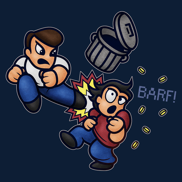 River City Ransom Barf