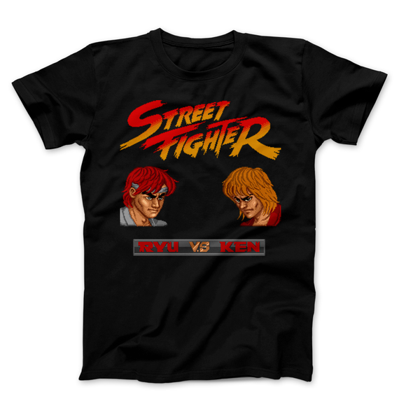 Street Fighter Ryu VS Ken