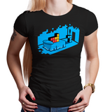 SpaceTro Wave - Retro and Pixel Video Game T-shirts - Pixel, Love, Sex, Sextris, Gamer, Nerd, Geek, Valentines, Honey, Dear, Funny, Retro, NES, Nintendo, Blocks, Puzzle Game, Men, Women, Tank, Long Sleeve, Shirts