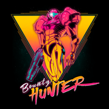 Space Bounty Hunter - Retro and Pixel Video Game T-shirts - Metroid, Samus Aran, Sci-Fi, Science Fiction, SNES, Nintendo, NES, Bounty Hunter, Space, Mother Brain, Kraid, Zebes, Prime, 4, Zero Suit, Retro Wave, Switch, Alien, Ridley, Smash Bros, Tank, Long Sleeved, Summer, Shirt, Tee, TShirt, T-Shirt, Womens Fit, Tight, Ddjvigo
