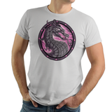 Spyro Kombat - Video Game Pixel T-Shirts & Retro Gaming Tees! - Kombat, Fighter, Fighting Game, Dragon, Spyro, Mash Up, Mashup, Gamer, Nerd, Geek, MK, Exclusive, Dragon Emblem, SNES, Fatality, Finish Him, Women, Men, Kids