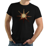 Bonfire by the Sun - Retro and Pixel Video Game T-shirts - Retro, Dark Souls, Dark Souls 2, Praise The Sun, Art, Bloodborne, Demon Souls, RPG, Action, Bonfire, PS4, PC, Xbox, Solaire, Geek, Nerd, Knight, Japan, Japanese, Pixel, Retro, Donnie, Videogame, Games, Gamer, Best, Women, Men, T-Shirt, Tee, Slim Fit, Tank Top, Long Sleeve