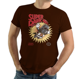 Shop like a gamer. PixelRetro is your best destination for Video Game T-Shirts for Men and Women. Unisex Tee with a great fit. Dark souls from the Knight Mash UP on a Brown or Chocolate T-Shirt, durable and high quality cotton. Art By Nemons.