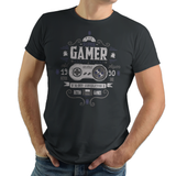 Super Gamer - Retro and Pixel Video Game T-shirts - Retro, Geek, Nerd, SNES, Super Nintendo, 1991, Japan, Japanese, Super Mario World, Zelda, Star Fox, Final Fantasy, Donkey Kong, Street Fighter 2, Pixel, 16-Bit, TLOZ, A Link To The Past, Typhoonic, Black, Grey, Men, Women, Kids, Ladies Fit, Tight Fitting, Tank Top, Long Sleeved, High Quality, Best Quality, Cotton, Soft Tee, Soft T-Shirt