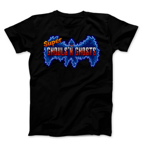 Super Ghouls N Ghosts Logo