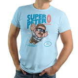 Super Peter Zero Power - Retro and Pixel Video Game T-shirts - Nintendo, NES, Super Mario, Mario 3, Box Art, SMW, Super Mario World, Bowser, Gamer, Mario Bros, Mash Up, Comic Book, Superheroes, Peter, Merc, Zero Power, No Power, Deadpool, Parody, SMB, Sirt, Tank, Long Sleeved, Men, Women, Kids, Tees, Clothes