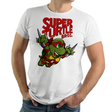 PixelRetro is your best destination for Video Game T-Shirts for Men and Women. Unisex Tee with a great fit. Raphael from Ninja Turtles in his best SMB3 Mash up on a White T-Shirt. Smashed into a Box Art, Super Mario Bros 3 design with the TMNT Parody look. Part of a Cartoon, NES, Nintendo series for a unique look. Online shop only. Soft, durable and high quality cotton. Art By Punksthetic.