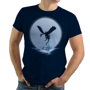 The Guardian Of The Sea - Video Game Pixel T-Shirts & Retro Gaming Tees! Pokemon, Nintendo, Retro, Birthday, Legendary, Japanese, Fire Red, Game Boy , Advance, Gamer, Leaf Green, Silver, Poke Ball, Charizard, Lugia, Sun And Moon, Psychic, Men, Women, Tank, Long Sleeve