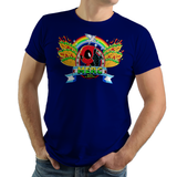 The Merc - Retro and Pixel Video Game T-shirts -  Tank, Long Sleeved, Fit, Gamer, Mash Up, Spyro, Cute, Adorable, PS1, 16-Bit, Mashup, Pixel, Retro, 90s, 1990s, Chimichanga, Taco, Superhero, Comic, Comic Book, Unicorn, Rainbow, Film, Movie, Pixel, Start Screen, Men, Women, Kids, Tees, Clothes