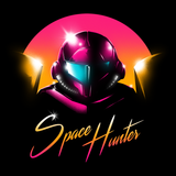 The Space Hunter - Retro and Pixel Video Game T-shirts - Metroid, Samus Aran, Sci-Fi, Science Fiction, SNES, Nintendo, NES, Bounty Hunter, Space, Mother Brain, Kraid, Zebes, Prime, 4, Zero Suit, Retro Wave, Switch, Alien, Ridley, Smash Bros, Tank, Long Sleeved, Summer, Shirt, Tee, TShirt, T-Shirt, Womens Fit, Tight, Ddjvigo