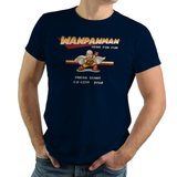 Wanpanman - Retro and Pixel Video Game T-shirts - Retro, Pixel, 8-Bit, Megaman, Mashup, One Punch Man, Nes, Anime, Japanese, Japan, Arcade, Parody, Wanpanman, Cartoon, Saitama, Press Start, Nintendo, Classic, nerd, Geek, Typhoonic, Women, Men, Kids, Cotton, Tank, Long Sleeved, Shirt