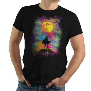 Wild World - Retro and Pixel Video Game T-shirts - Zelda, TLOZ, The Legend of Zelda, Link, Princess, Hyrule, OOT, Majoras Mask, Breath of the Wild, Link to the Past, Ocarina of Time, Wind Waker, BOTW, Colorful, Switch, N64, Daletheskater, Videogame, Games, Gamer, Best, Women, Men, T-Shirt, Tee, Slim Fit, Tank Top, Long Sleeve