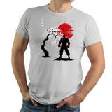 Fighter In The Wind - Retro and Pixel Video Game T-shirts - Gamer, Street Fighter II, No Parking, V, IV, Ken, Ryu, Sagat, Chun Li, Japan, Japanese, Capcom, Fighting, Fighter, SNES, Arcade, Nintendo, Guile, Cherry Tree, 1991, 1990s, SF 2, SF II, Videogame, Games, Gamer, Best, Women, Men, T-Shirt, Tee, Slim Fit, Tank Top, Long Sleeve