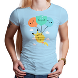 Shop like a gamer. PixelRetro is your best destination for Video Game T-Shirts for Women. Pikachu from Pokemon on a Crystal or Light Blue Fit, Fitted T-Shirt. Cute design with a unique look that has Pikachu flying in the air.