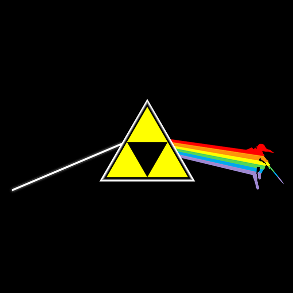 Colorful Side of The Triforce