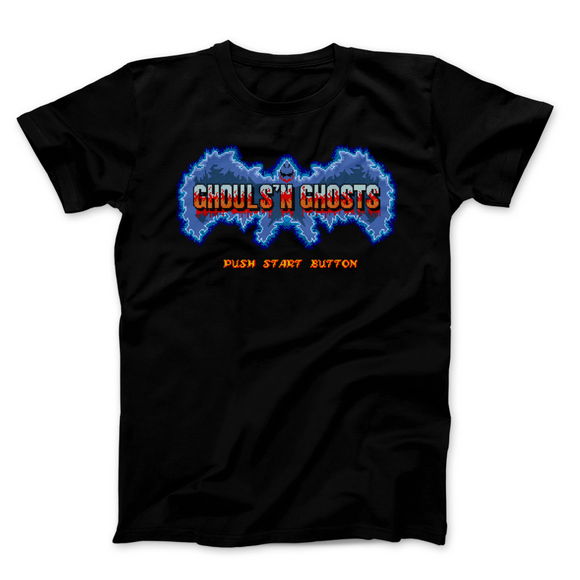 Ghouls N Ghosts Push Start