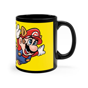Super Mario Bros 3 Black mug 11oz